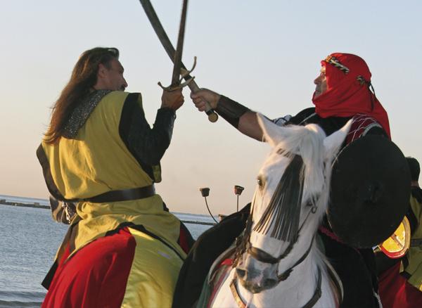 Desembarco Moro Fiestas de Moros y Cristianos