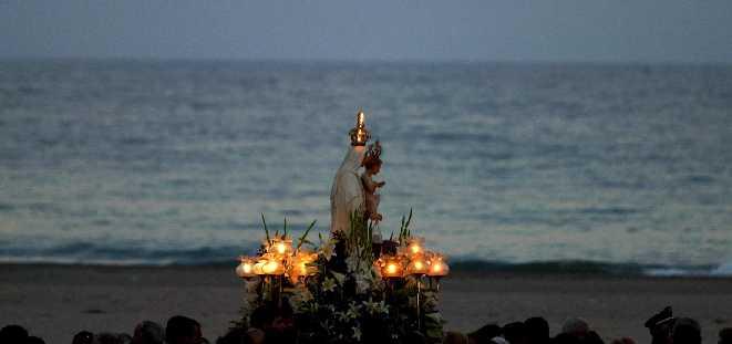 Procesión Virgen del Carmen