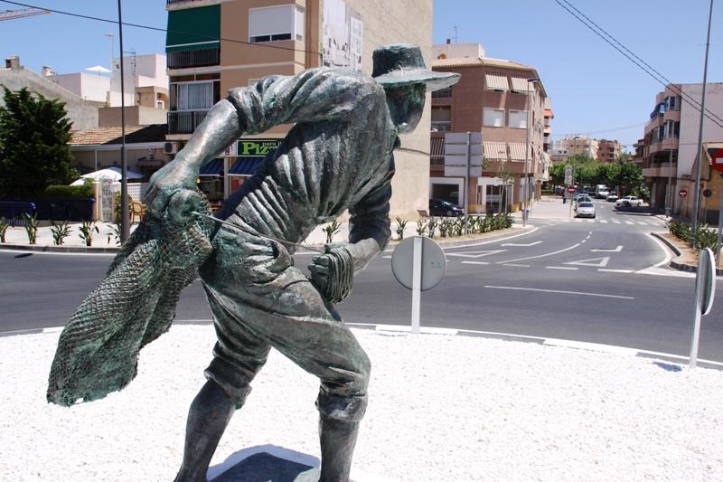 Escultura El Rallaor