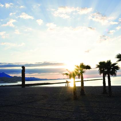 Monumento al Pescador en Playa Carrer la Mar