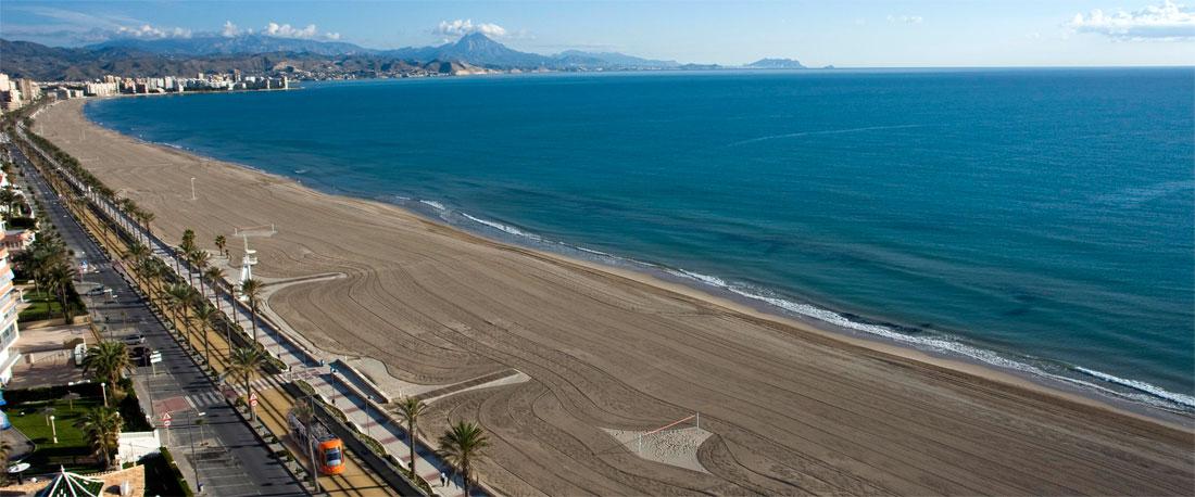 la playa de muchavista