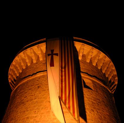 Torre de La Illeta por la noche