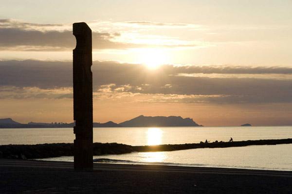 Monumento al Pescador en El Campello
