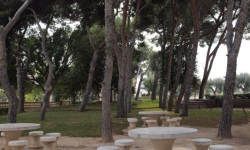Pinada  y merendero colegio Salesianos