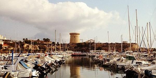 Puerto y Torre de El Campello